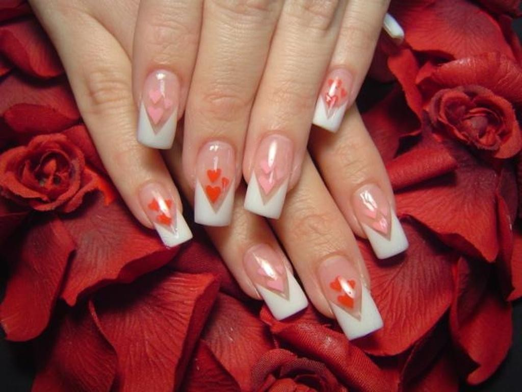 valentines-day-nails-37 89 Most Fabulous Valentine's Day Nail Art Designs