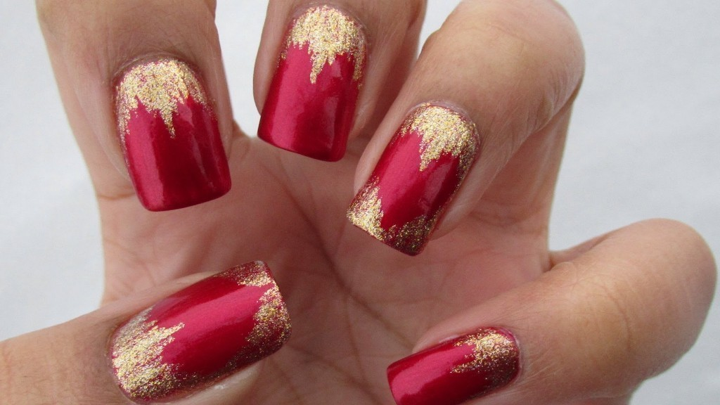 valentines-day-nails-4 89 Most Fabulous Valentine's Day Nail Art Designs