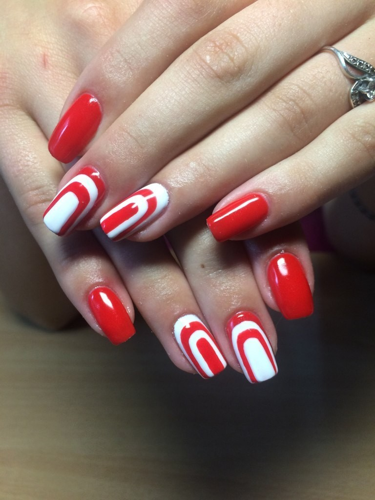 valentines-day-nails-43 89 Most Fabulous Valentine's Day Nail Art Designs