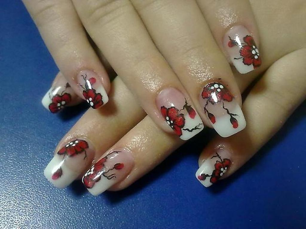 valentines-day-nails-44 89 Most Fabulous Valentine's Day Nail Art Designs