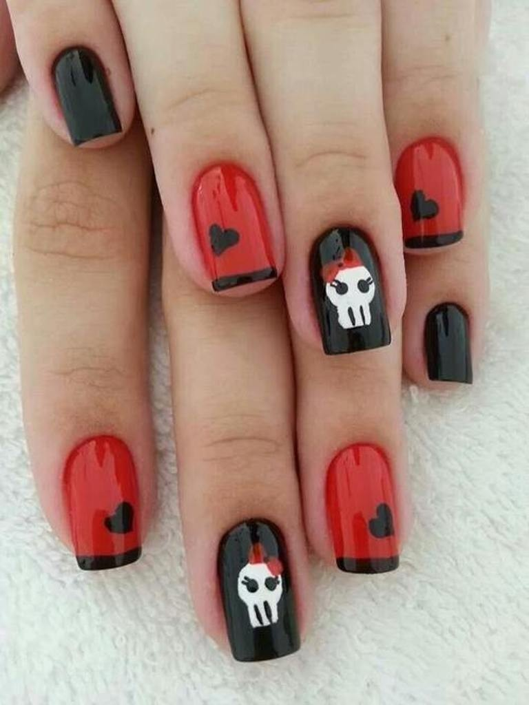 valentines-day-nails-55 89 Most Fabulous Valentine's Day Nail Art Designs