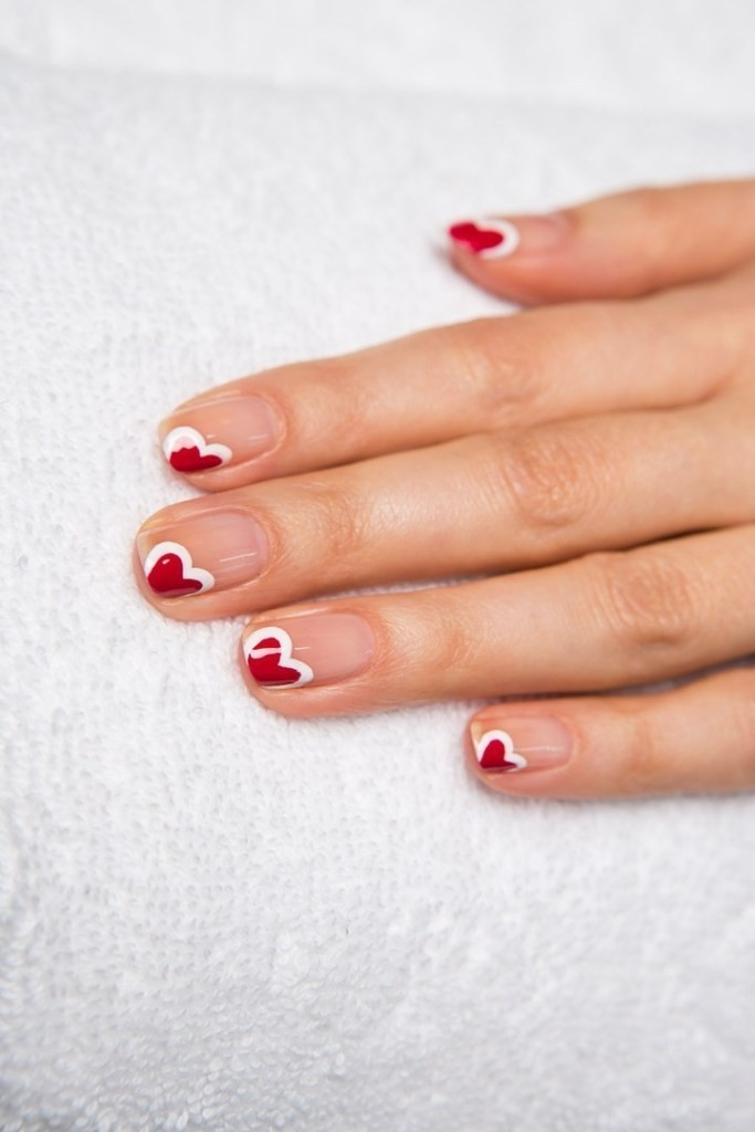 valentines-day-nails-59 89 Most Fabulous Valentine's Day Nail Art Designs