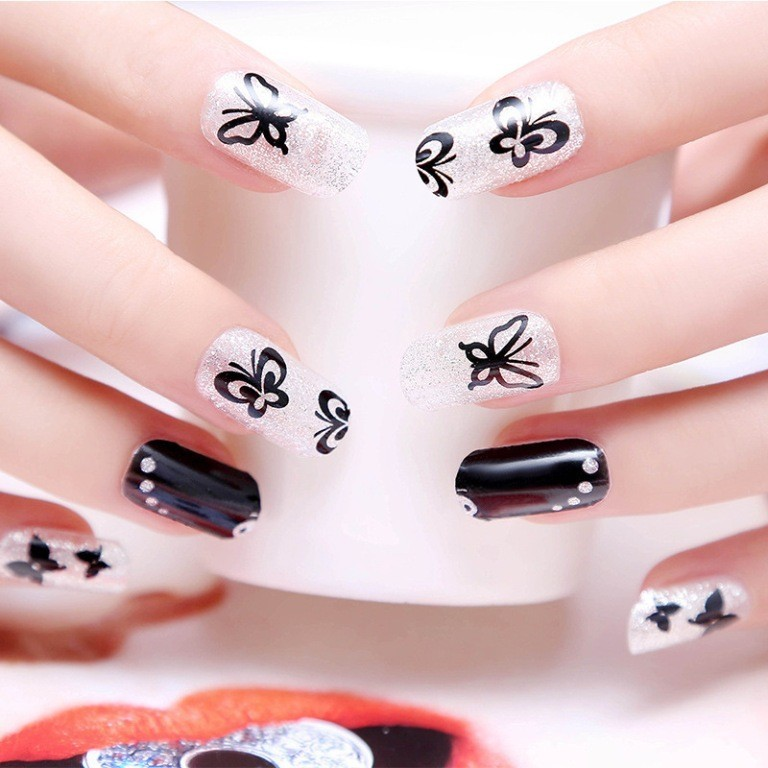 valentines-day-nails-66 89 Most Fabulous Valentine's Day Nail Art Designs