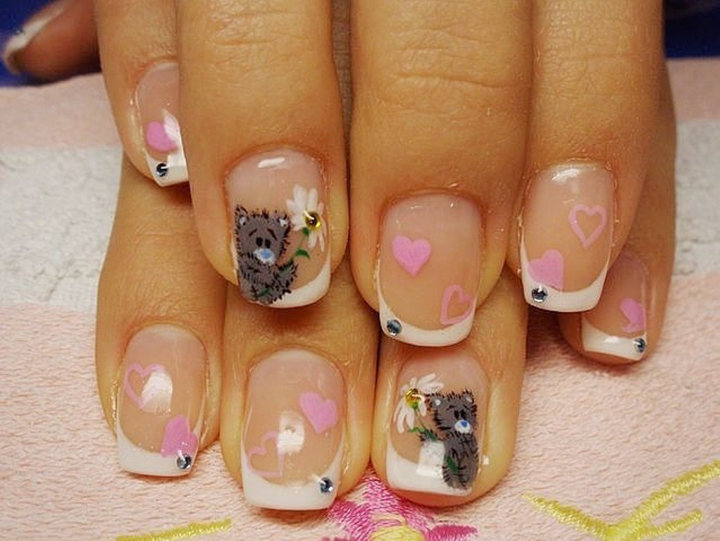 valentines-day-nails-7 89 Most Fabulous Valentine's Day Nail Art Designs