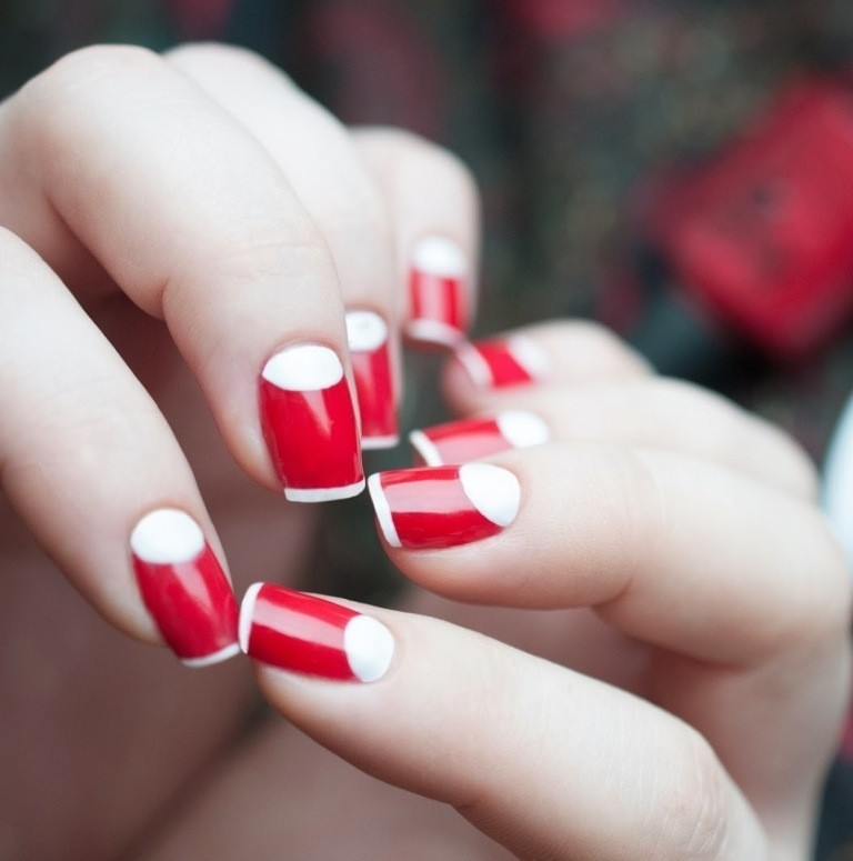 valentines-day-nails-73 89 Most Fabulous Valentine's Day Nail Art Designs