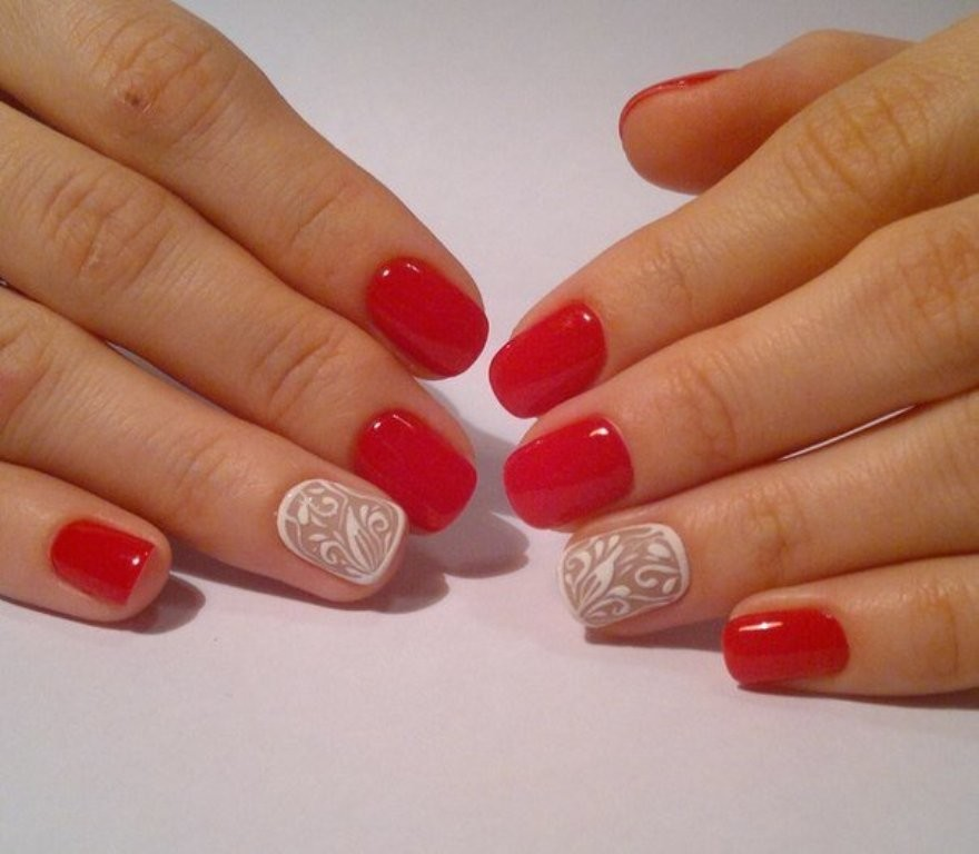 valentines-day-nails-76 89 Most Fabulous Valentine's Day Nail Art Designs