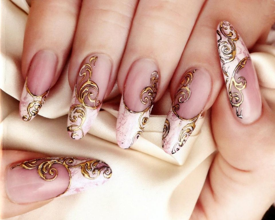 valentines-day-nails-78 89 Most Fabulous Valentine's Day Nail Art Designs