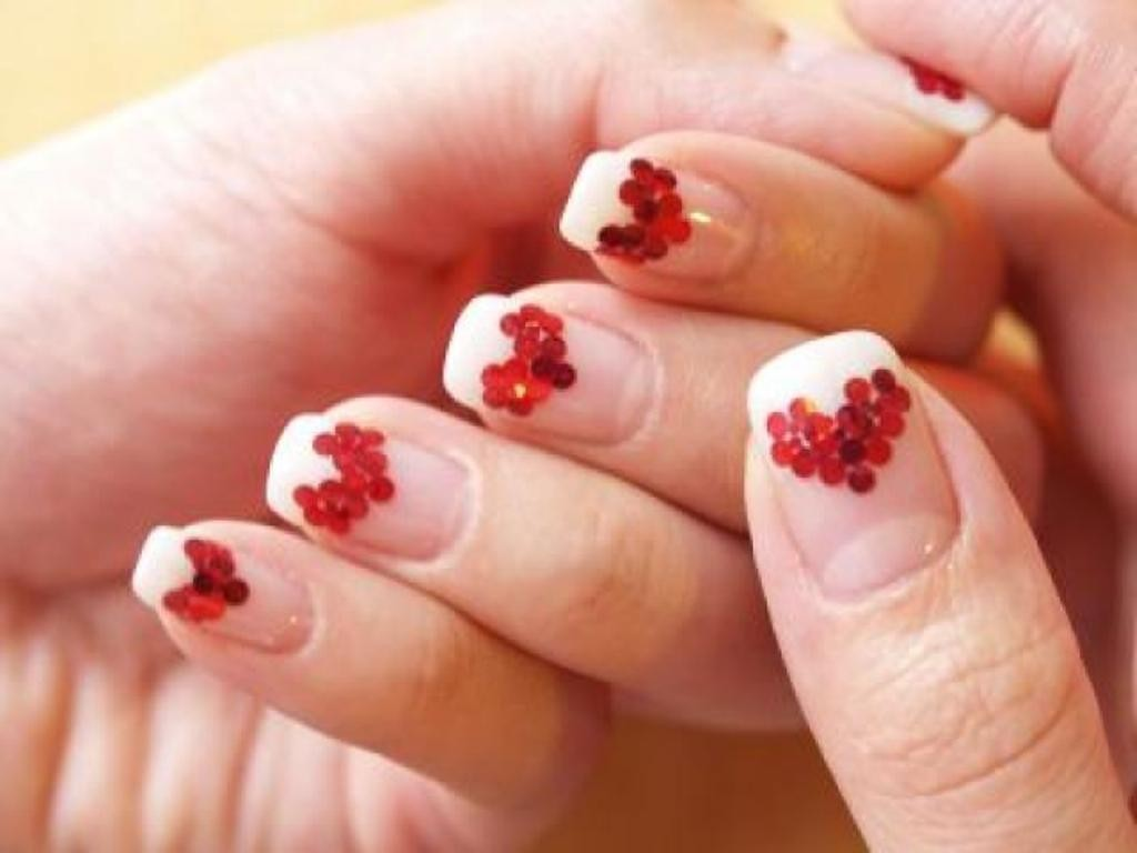 valentines-day-nails-79 89 Most Fabulous Valentine's Day Nail Art Designs