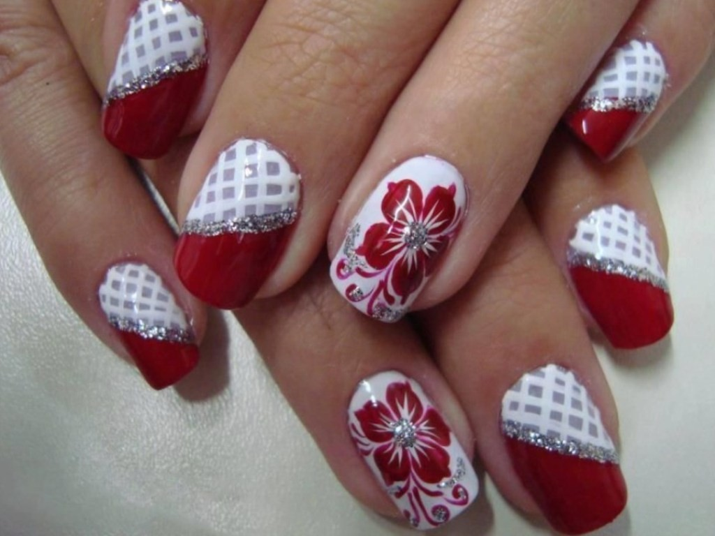 valentines-day-nails-82 89 Most Fabulous Valentine's Day Nail Art Designs