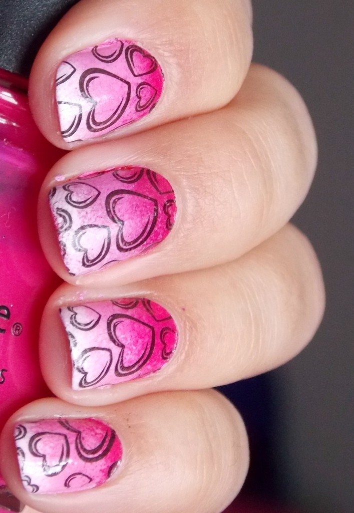 valentines-day-nails-84 89 Most Fabulous Valentine's Day Nail Art Designs