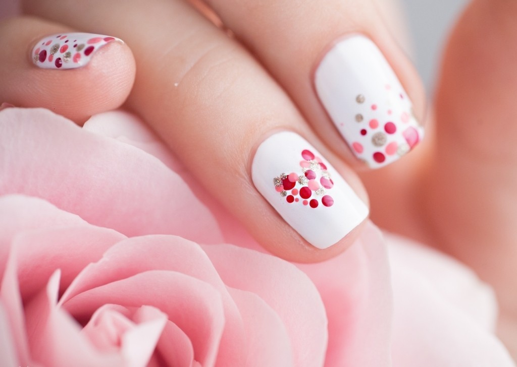valentines-day-nails 89 Most Fabulous Valentine's Day Nail Art Designs