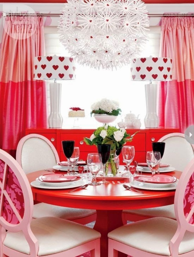 valentines-day-table-decoration-ideas-5 61 Awesome Valentine's Day Decoration Ideas