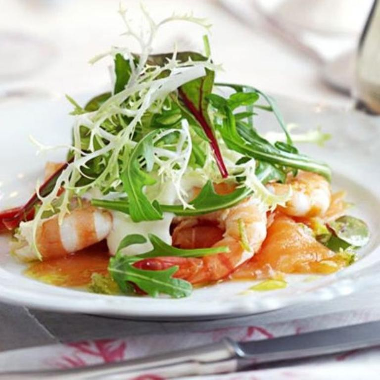 Smoked-salmon-with-prawns-horseradish-cream-and-lime-vinaigrette-1 32 Most Romantic Valentine's Day Meals & Recipe Ideas