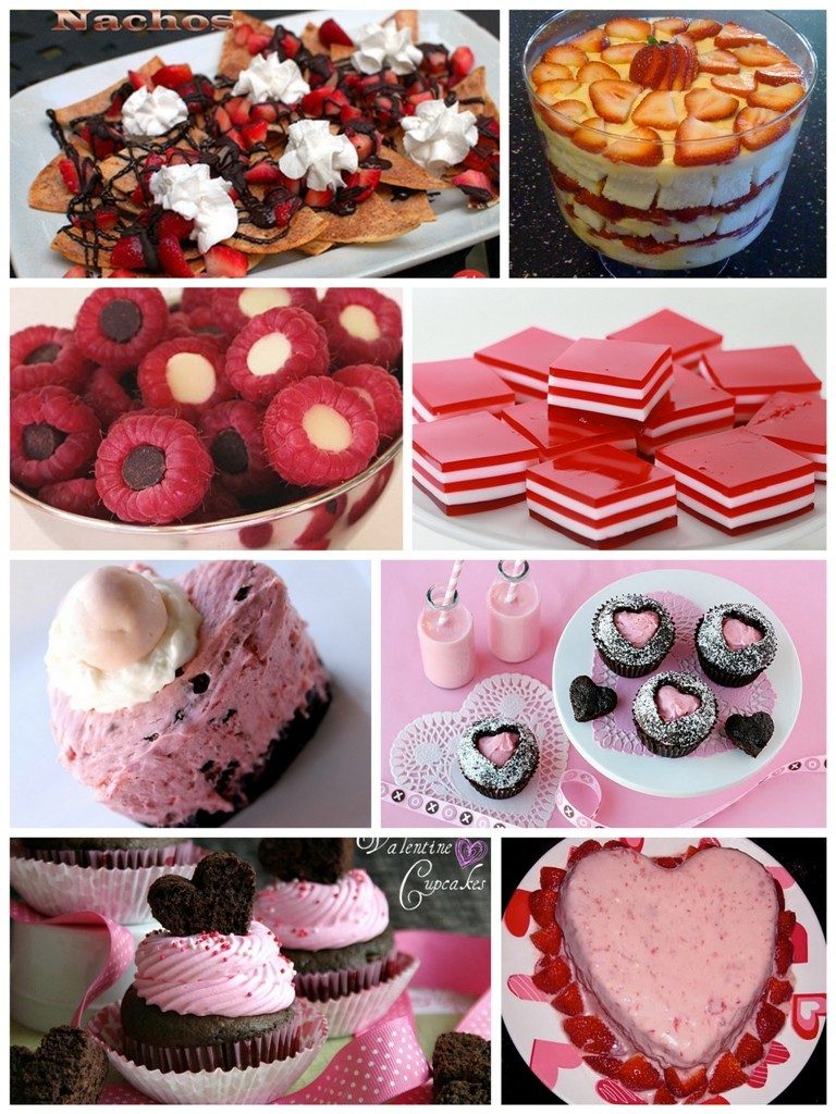 Valentines-Sweet-Treats 32 Most Romantic Valentine's Day Meals & Recipe Ideas