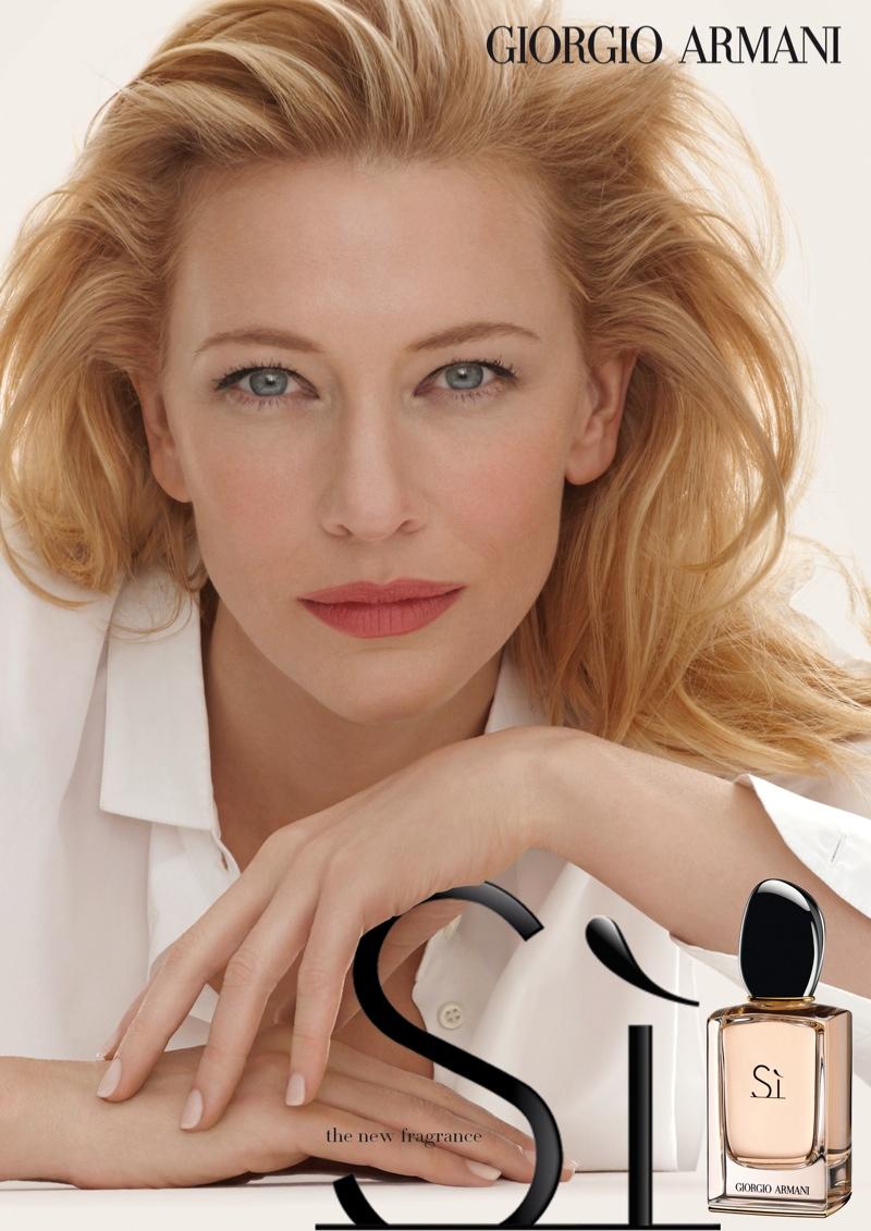 cate-blanchett-armani-si-fragrance Top 5 Best-Selling Women Perfumes