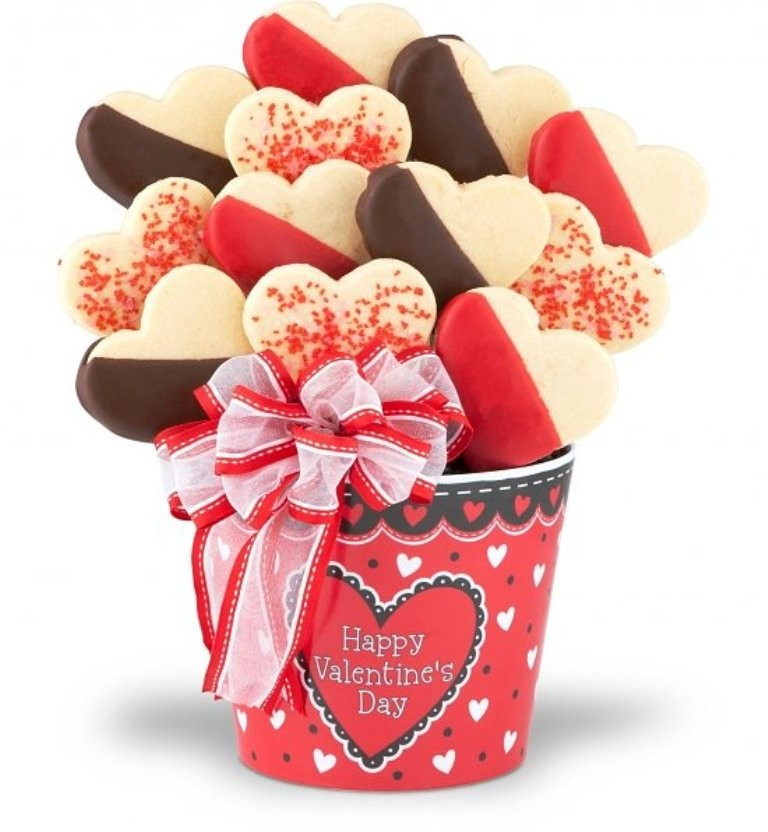 valentines-day-cookies-1 65 Most Romantic Valentine's Day Chocolate Treat Ideas