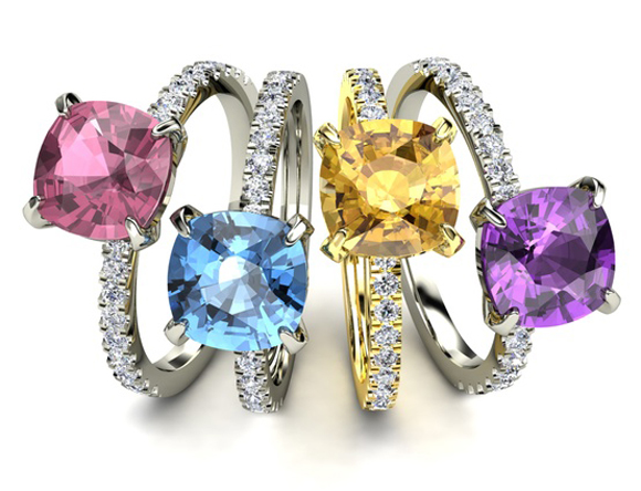 02-colored-engagement-ring-gem-stones 37+ Amazing Engagement Rings With Colored Gemstones