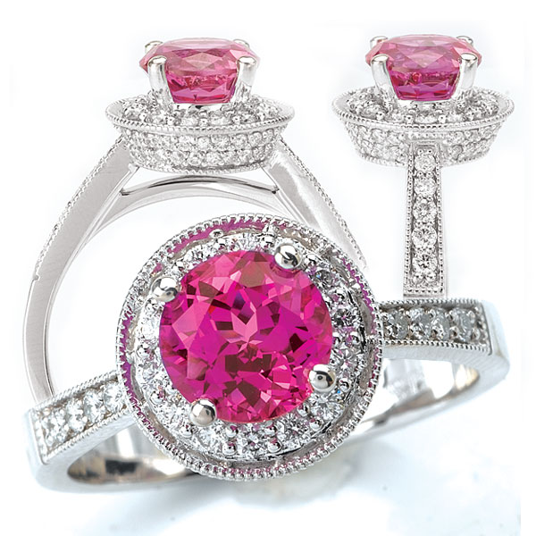 117036ps 37+ Amazing Engagement Rings With Colored Gemstones