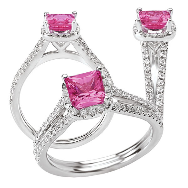117074ps 37+ Amazing Engagement Rings With Colored Gemstones
