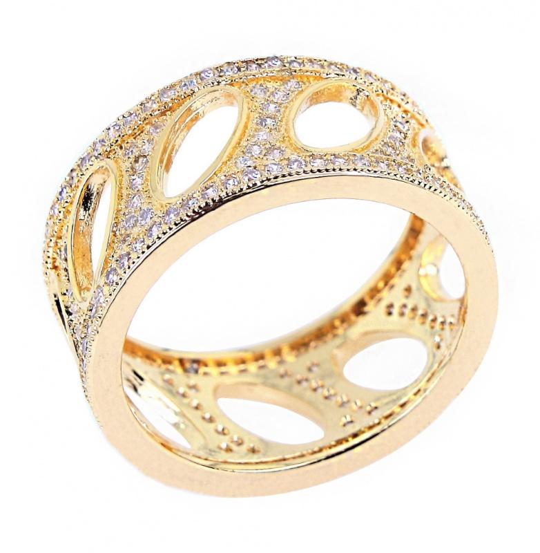 2014-New-Fashion-Woman-Luxury-Flower-Shape-wedding-font-b-rings-b-font-Top-Grade-Zirconia Top 22+ Unique And Elegant Designs Of Wedding Rings