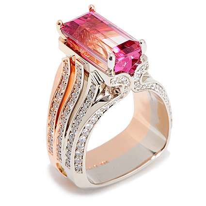 289___Source 37+ Amazing Engagement Rings With Colored Gemstones