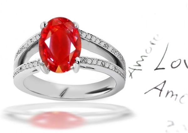 6-Premier-Designer-Collection-Split-Shank-Pave-Set-Colored-Gemstones-Ruby-Emerald-Blue-Pink-Sapphire-Diamond-Fasion-Engagement-Rings 37+ Amazing Engagement Rings With Colored Gemstones