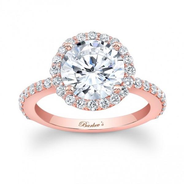 7839lp_front_1 30 Elegant Design Of Engagement Rings In Rose Gold