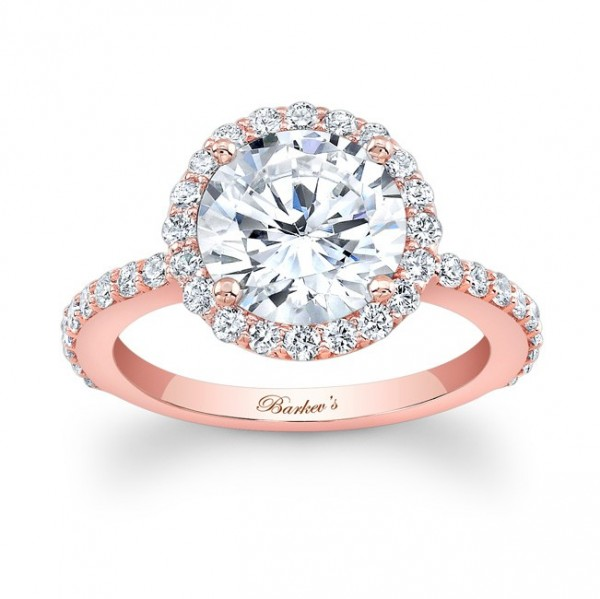7839lp_front_1 30 Elegant Design Of Engagement Rings In Rose Gold