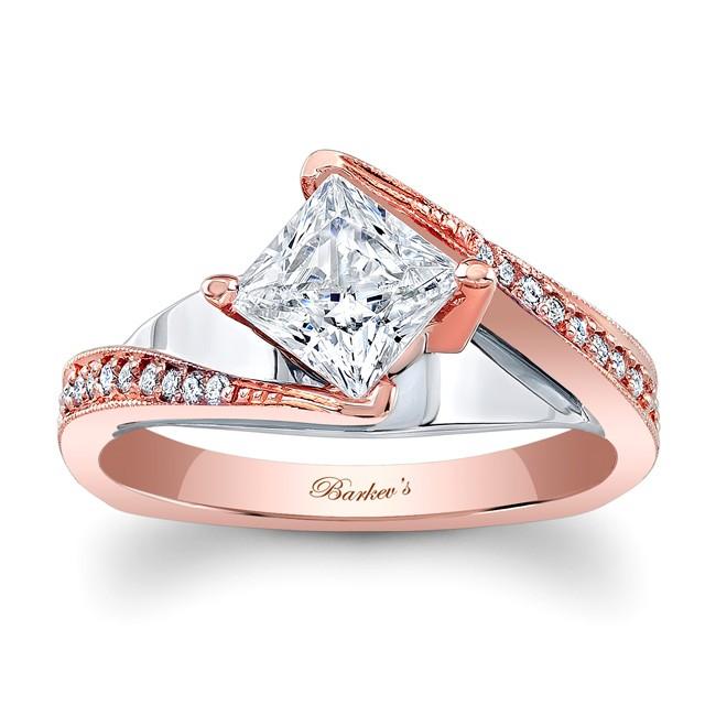 7922lptw_front 30 Elegant Design Of Engagement Rings In Rose Gold