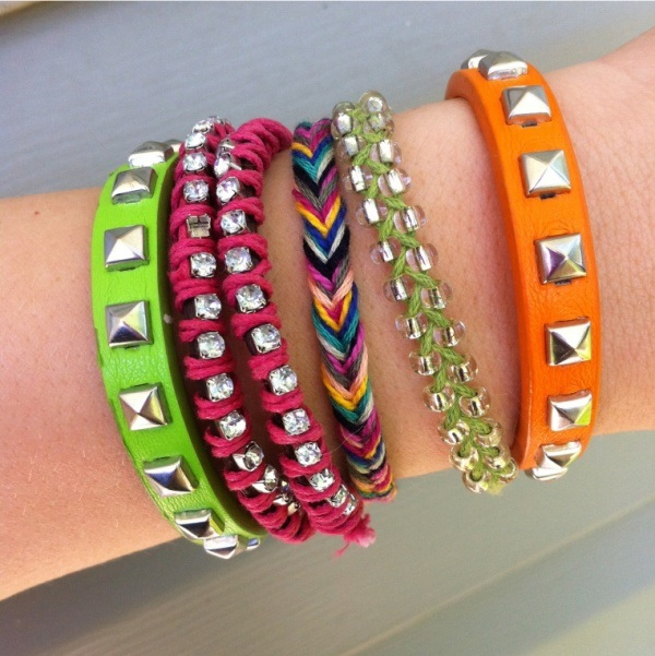 Colorful-Bracelets-for-girls 2017 Trendy Designs Of Bracelets For Women And Girls