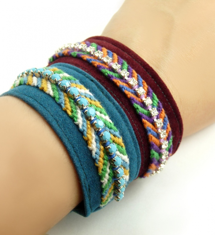Cool-Funky-Friendship-Bracelets1 Best 27+ Trendy Designs Of Bracelets For Women And Girls 2019