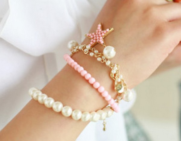 Fashion-Wrist-Jewelry-For-Girls-6 Best 27+ Trendy Designs Of Bracelets For Women And Girls 2019