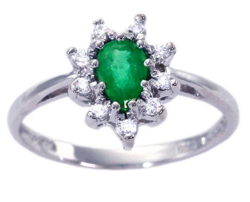 Gemstone-Engagement-Ring-Emerald-full 37+ Amazing Engagement Rings With Colored Gemstones