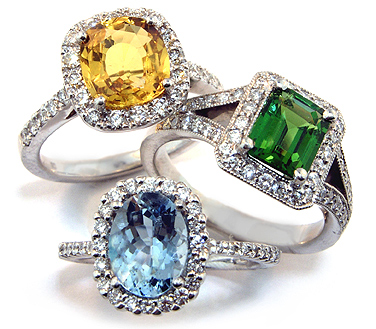 Gemstone-Engagement-Rings 37+ Amazing Engagement Rings With Colored Gemstones