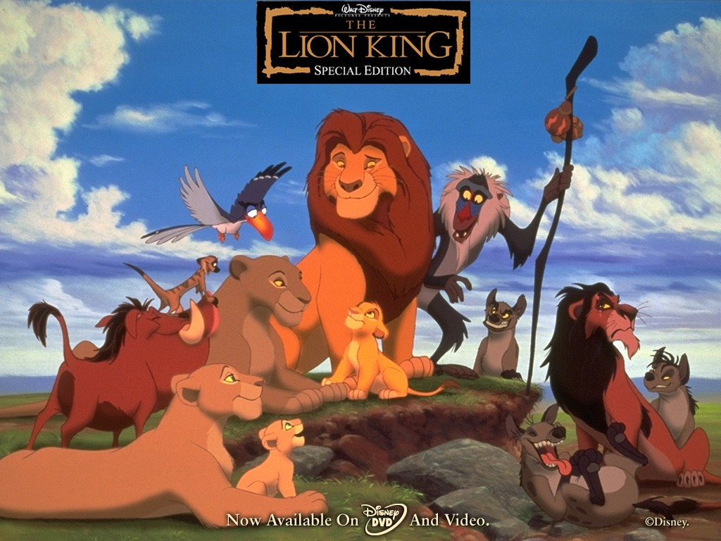 LionKingWallpaper1024 Top 5 Highest Grossing Animated Movies