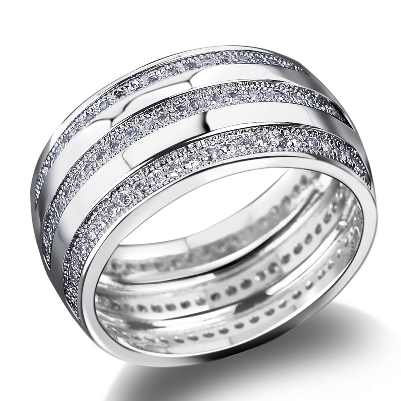 New-fashion-ladies-high-quality-gold-plated-hypoallergenic-ring-wedding-anniversary-gift-free-shipping Top 22+ Unique And Elegant Designs Of Wedding Rings