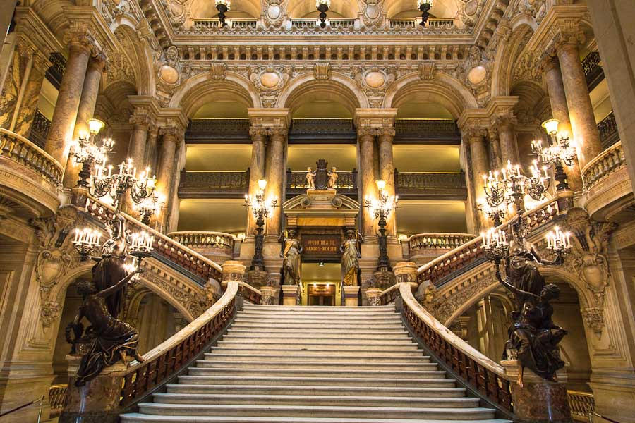 Palais-Garnier-Staircase 5 Places You Must Visit If You Will Travel To Paris