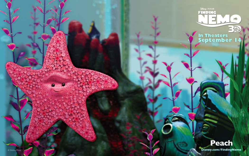 Peach-FindingNemo3D Top 5 Highest Grossing Animated Movies