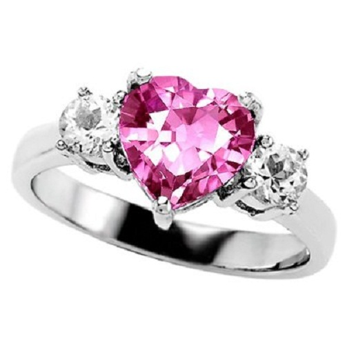 Pink-diamond-engagement-rings-for-women 37+ Amazing Engagement Rings With Colored Gemstones
