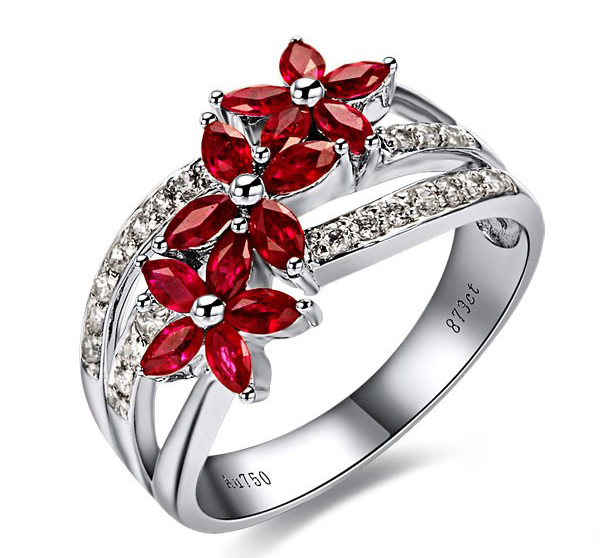 Red-diamond-engagement-rings1 37+ Amazing Engagement Rings With Colored Gemstones