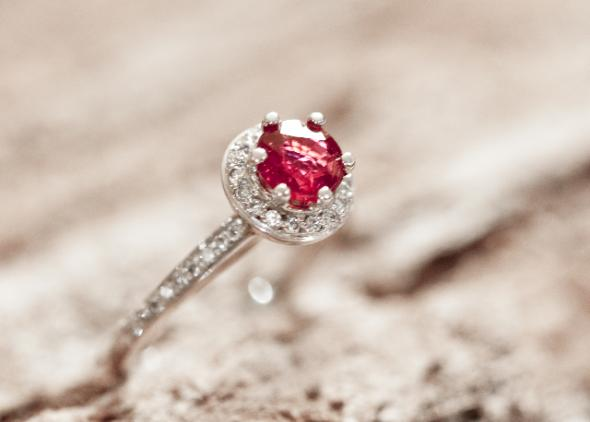 Ring-1 37+ Amazing Engagement Rings With Colored Gemstones