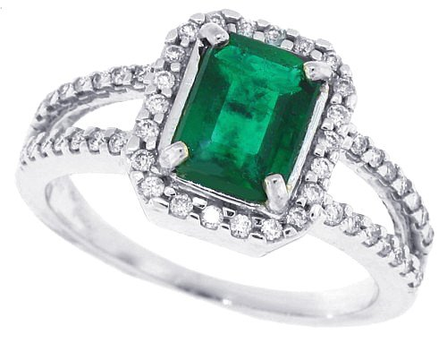 antique-vintage-emerald-engagement-rings-5 37+ Amazing Engagement Rings With Colored Gemstones