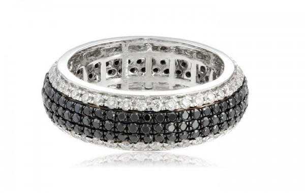 black-and-white-gold-wedding-rings-1 Top 22+ Unique And Elegant Designs Of Wedding Rings