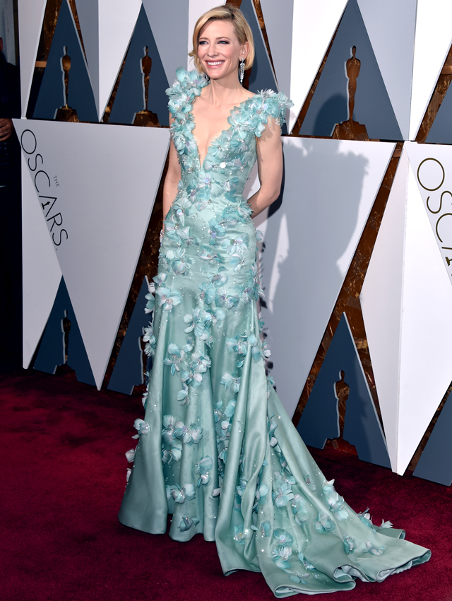 cate-blanchett-oscars-2016-buro-ca Top Best 5 Red Carpet Looks in The 88th Academy Award