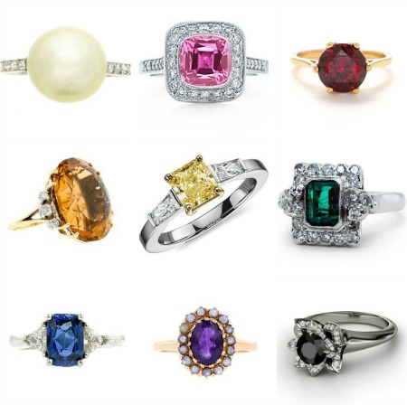 colored-ring 37+ Amazing Engagement Rings With Colored Gemstones