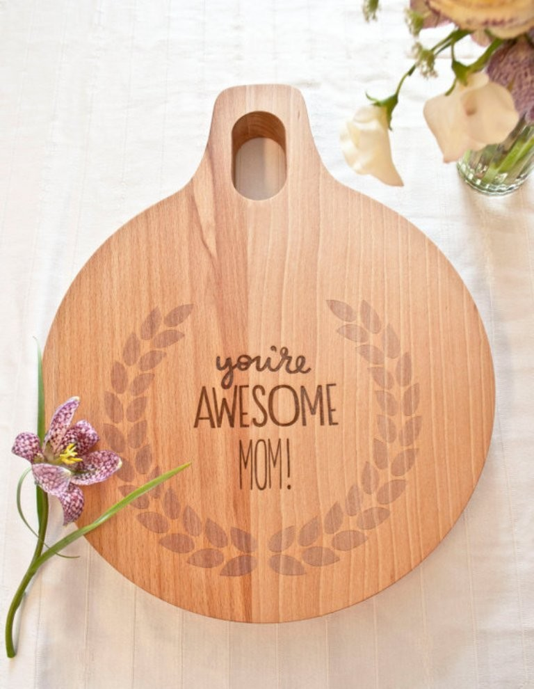 cutting-board 27 Most Stunning Mother's Day Gift Ideas