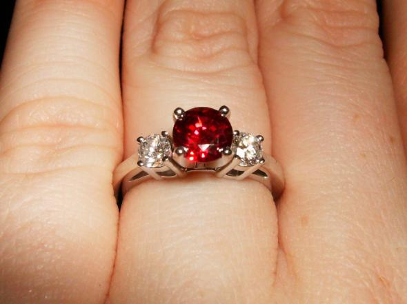 engagement_ring 37+ Amazing Engagement Rings With Colored Gemstones
