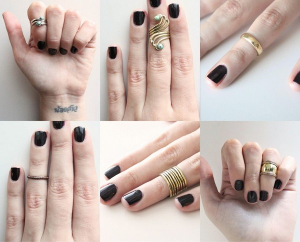 midi-knuckle-rings-for-girls 15 Trendy Designs Of Rings For Women And Teenage Girls