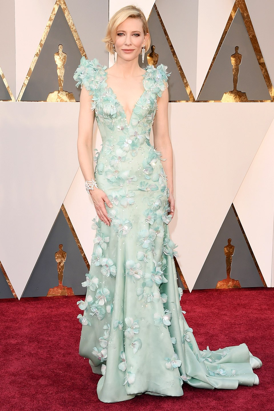 oscars-red-carpet-2016-best-dressed-cate-blanchett Top Best 5 Red Carpet Looks in The 88th Academy Award