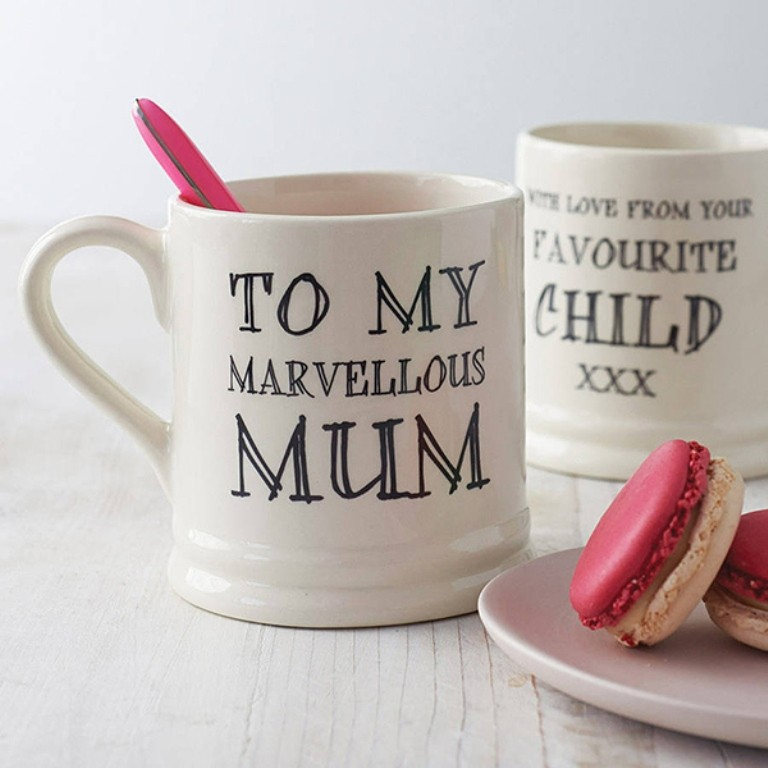 personalized-mugs 27 Most Stunning Mother's Day Gift Ideas